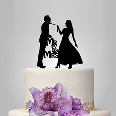 Hey, I found this really awesome Etsy listing at https://www.etsy.com/listing/197628076/funny-wedding-cake-topper-monogram-cake
