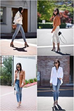 48 Beautiful Street Style Looks Trending Now - Fashion New Trends Casual Outfits, Summer Outfits, Fashion Outfits, Womens Fashion, Women's Casual, Ladies Fashion, Work Outfits, Fashion Clothes, Fall Outfits