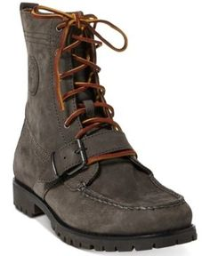 b5f2da422f2812 Polo Ralph Lauren Men s Ranger Suede Boots - Charcoal 11.5