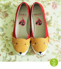Wondershoe for Ba-na-na Flatshoes  Megan Foxy, Indonesia.