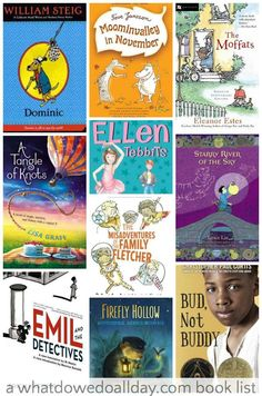 Great selection of books to read to first grade.