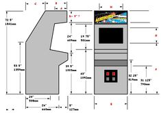 arcade cabinet plans http://vectorlib2.free.fr/Plans/vect/asteroid_cab.jpeg
