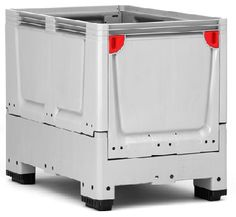 The maximum volume of the collapsible bulk containers saves time and money in transport, handling and storing.    Volume-optimized sides  space-saving when empty  low empty weight  easy to clean    Price : £184.60    Weight : 0.00 kg
