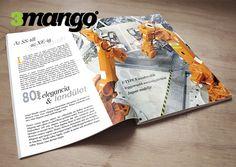 Jaguár magazin / katalógus készítés, belív grafikai tervezés és tördelés. Kiadványtervezés, készítés.