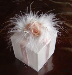 Wedding favor box - Clayflowersdesign