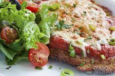Receita de Bife à milanesa ao forno em receitas de carnes, veja essa e outras receitas aqui!