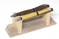 Looking for custom pen display stand ideas--- show us what you made :D - International Association of Penturners