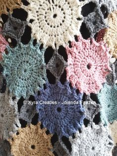 ****CROCHET-PATTERN**** (English-US & Dutch)  Poncho with flowers / circles.  The poncho is crocheted with Royal, with crochet hook no. 6 (Dutch size).  It is approx. 79 cm (height) * 98 cm (width), exl. fringes measured.  Necessities: Royal* total – approx. 430 grams – 1036,3 meters – 1133,71 yards Royal* dark gray – approx. 122 grams – 294,02 meters – 321,66 yards Royal* light gray – approx. 53 grams – 127,73meters – 139,74 yards Royal* off-white – approx. 40 grams – 96,4 meters – ...