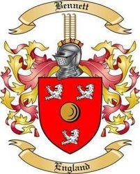 Bennett family crest England
