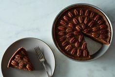 Raw, Vegan Pecan Pie perfect for Thanksgiving. Get the recipe: http://food52.com/blog/8824-raw-vegan-pecan-pie. #Food52