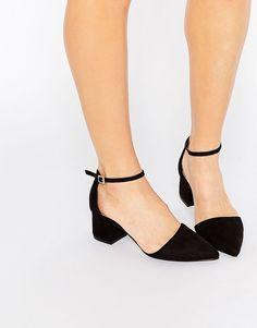 Image 1 ofNew Look Pointed Toe Block Heel