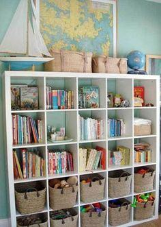 25 Open Storage Ideas For Kids Stuff | Kidsomania