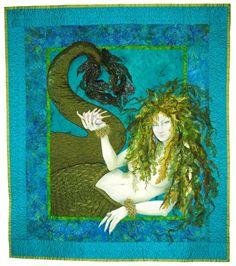 Sea Witch by Christine Alexiou / Quilt Artist