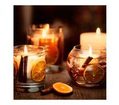 Cinnamon & Orange Fish Bowl Candle