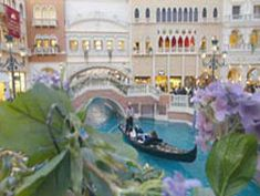 The merchandise at the Grand Canal Shoppes at The Venetian | The Palazzo is top-notch, and entertainment options, like the gondola ride, abound for those who want to amplify their shopping experience.