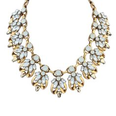 Acrylic Necklace, Zinc Alloy, with Acrylic, gold color plated, lead & cadmium free, 45mm,china wholesale jewelry beads