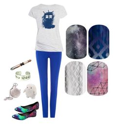 """""""Guess the Sci-Fi Movie/Show - Jamberry Nails"""" by kspantongroup on Polyvore featuring beauty and Polo Ralph Lauren"""
