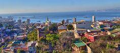 Valparaiso, UNESCO World heritage site and coastal, Chile