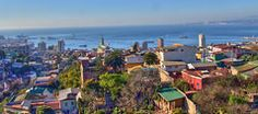 Valparaiso, UNESCO World heritage site and coastal, Chile