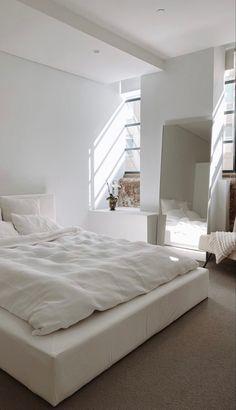 Room Design Bedroom, Room Ideas Bedroom, Home Room Design, Dream Home Design, Bedroom Inspo, Home Bedroom, Bedroom Decor, Bedrooms, Living Room Designs