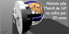 """Transparente como a água suja do fundo do Cantareira.  É o mínimo que se pode dizer da decisão, publicada na Folha de hoje, do Governador Geraldo Alckmin de tornar """"ultrassecretos"""" – com..."""