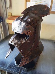 Battle-Damaged Uruk Hai Helmet