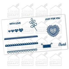 Tattered Lace 10 Assorted Mini Dies