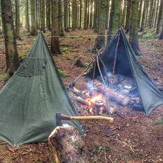 Camp like a champ by our friend bowdrillaz_ on Instagram at ift.tt/1SRnDb2. Get great bushcraft gear at ift.tt/1Wlb5py