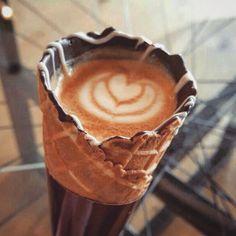 #coffeeinacone by: @steph_harten . . . . . . . . . . #coffeelife #coffeelover #coffeelovers #coffeeart #coffeetime #café #cafelife #cafe #cafelatte #espresso #capuccino #cappuccino #latte #latteart #coffeelatte #caffe #caffè #caffeine #cafetime #italiancoffee #coffeeshop #blackcoffee #coffeehouse #coffeeporn #coffeebean #instacoffee #coffeebreak #kaffe #kahve by majid.rwd
