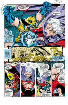X-Men, Wolverine Bone claws Comic Book Pages, Comic Page, Comic Book Artists, Comic Books Art, Marvel, A Comics, X Men, Loki