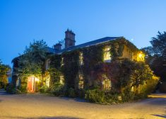 Romantic and Historic Carrig Country House Hotel is located on Carragh Lake on the famous Ring of Kerry driving route in Ireland. Country House Restaurant, Country House Hotels, Best Of Ireland, Blue Books, Summer Evening, Good Night Sleep, Castle, Mansions, House Styles