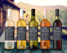 Wedding Milestones Wine Label  Custom Wine by LabelTheOccasion