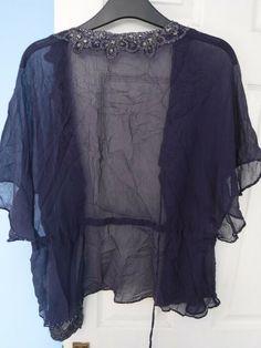 MONSOON WOMEN'S 100% SILK PURPLE BOLERO WITH SEQUINS SIZE UK 16 EUR 44 #Monsoon #BOLERO Monsoon, Size 16, The 100, Sequins, Silk, Purple, Ebay, Viola