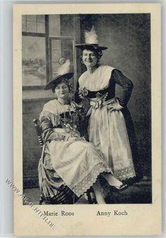 Trachten Duo 1918 AK