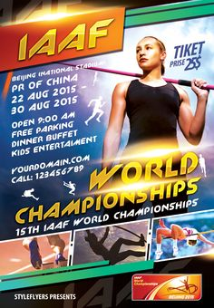 Free Sport Party Psd Flyer Template By StyleflyersCom This Free