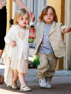 Twins for Me! (Vivienne and Knox Jolie-Pitt)
