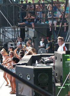 Diplo w/Major Lazer @ Houston, TX Free Press Summer Fest 2012 / taken by GerhardEric