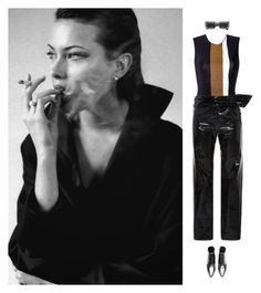 """""""Gone Girl"""" by laurenmarron ❤ liked on Polyvore featuring Haight, Isabel Marant and Gucci"""