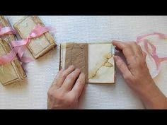 Fun Size Bag Journals **SOLD** - YouTube