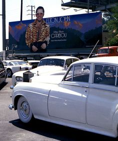 Billboards on Sunset - Elton John 'Caribou'