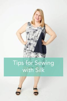 Sewing With Silk - Tips and Tricks for Sewing Slippery Fabrics - Cashmerette