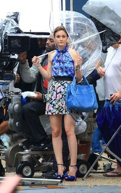 Blair Waldorf. I've been looking for this umbrella.