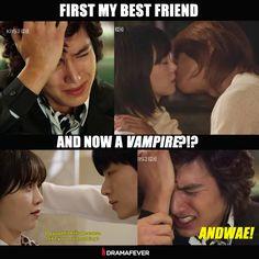 Poor Jun Pyo...#BoysoverFlowers #Blood