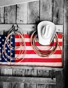 Flag hat/rope holder