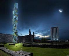 ECOMIC  #archello #architecture #building #tower #modern #office #green #eco