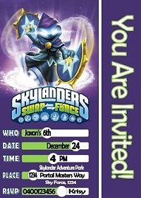 Free printable skylander trap team invitations skylanders skylanders birthday party filmwisefo