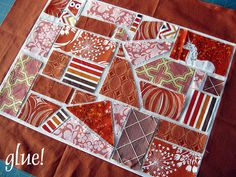 really good 'quilt as you go' ticker tape tutorial