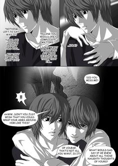 Death Note Doujinshi Page 42 by Shaami on DeviantArt