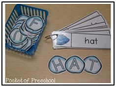 Building Snowball Words & Names...students can build words or names with the snowball letters.