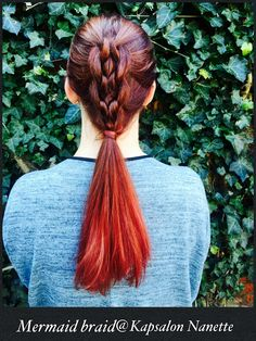 Mermaid braid@Kapsalon Nanette